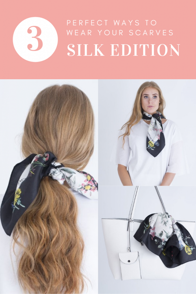 3 Perfect Ways to Wear a Silk Scarf