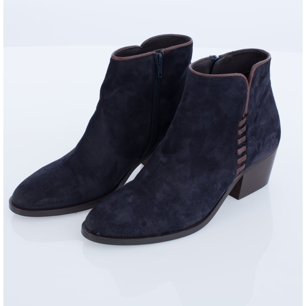 Bottines De Couture En Cuir OBU0x