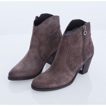 a85bb14b970b Alpe Suede Ankle Boot With Sparkle Finish Taupe