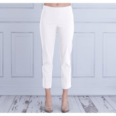 Bella 09 Turn Up Pull On Pant 68cm In White 51568 5499