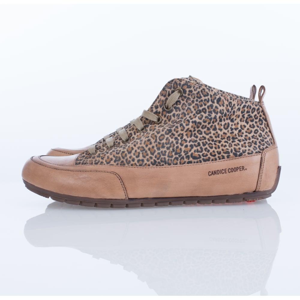 Candice Cooper MID04 Mid Top Leopard