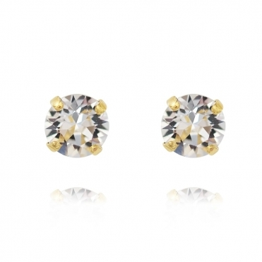 Classic Stud Earring In Crystal