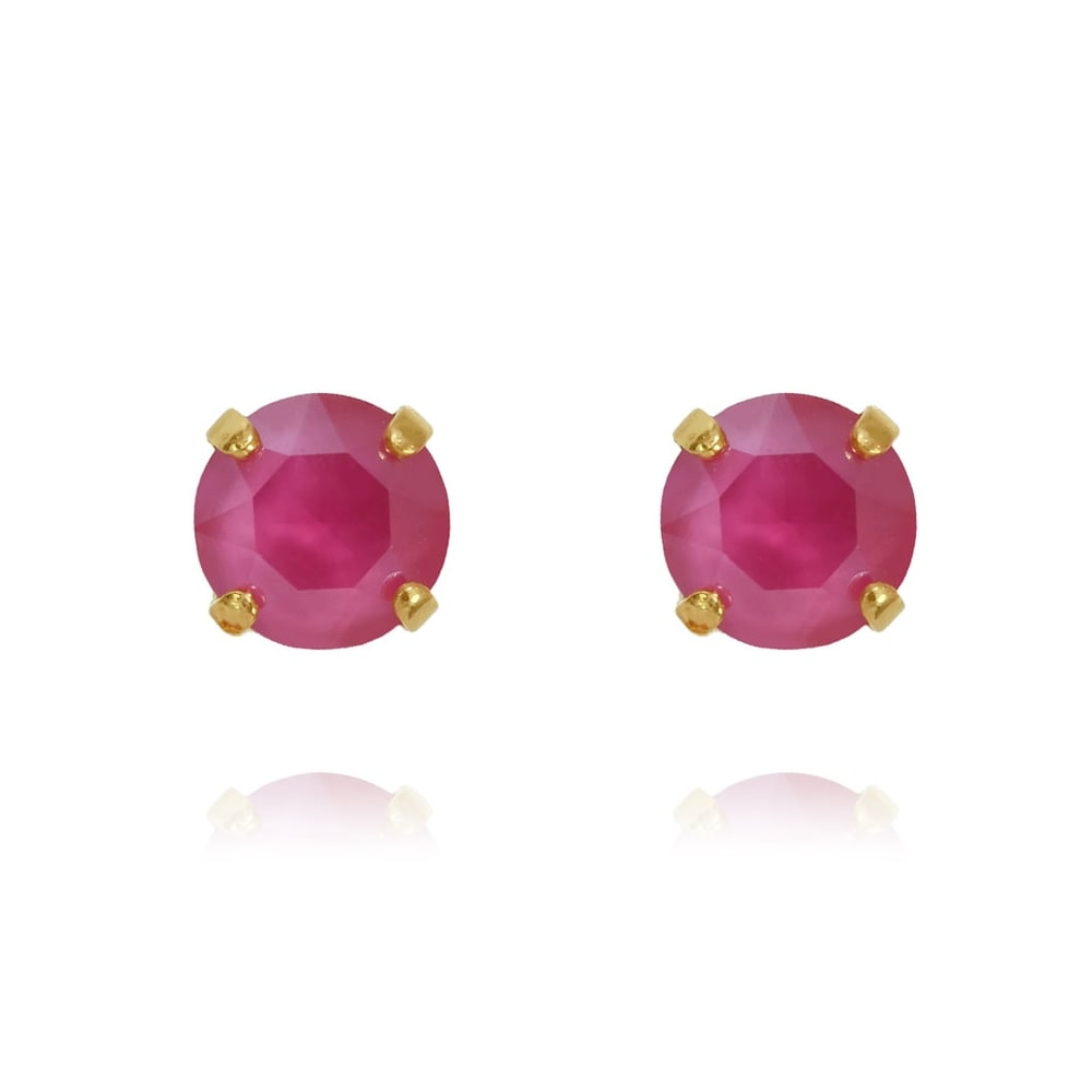 stud ivanka by copy earrings products gold trump in classic setting