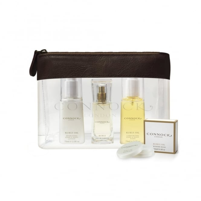 CONNOCK Kukui Oil Travel Collection
