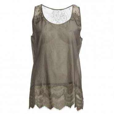 Vidar Loose Bodied Vest in Grey