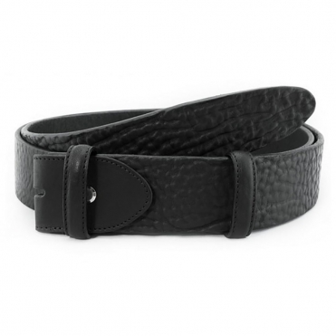 Classic Leather Belt In Black