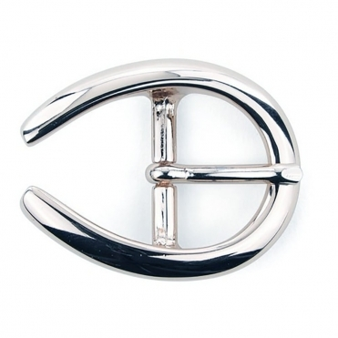 Large Horseshoe Buckle In Silver