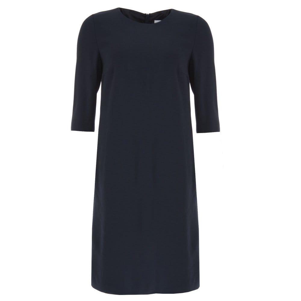 hugo boss navy dress