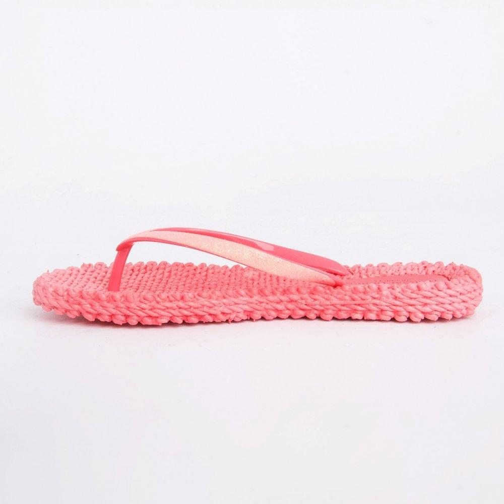 14a5846c9b9e Ilse Jacobsen Glitter Flip flop Coral