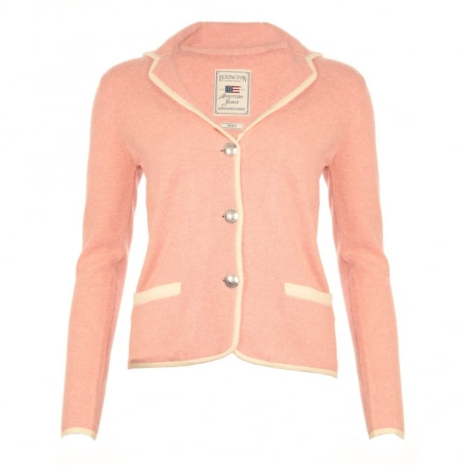LEXINGTON Knitted Jacket in Pink