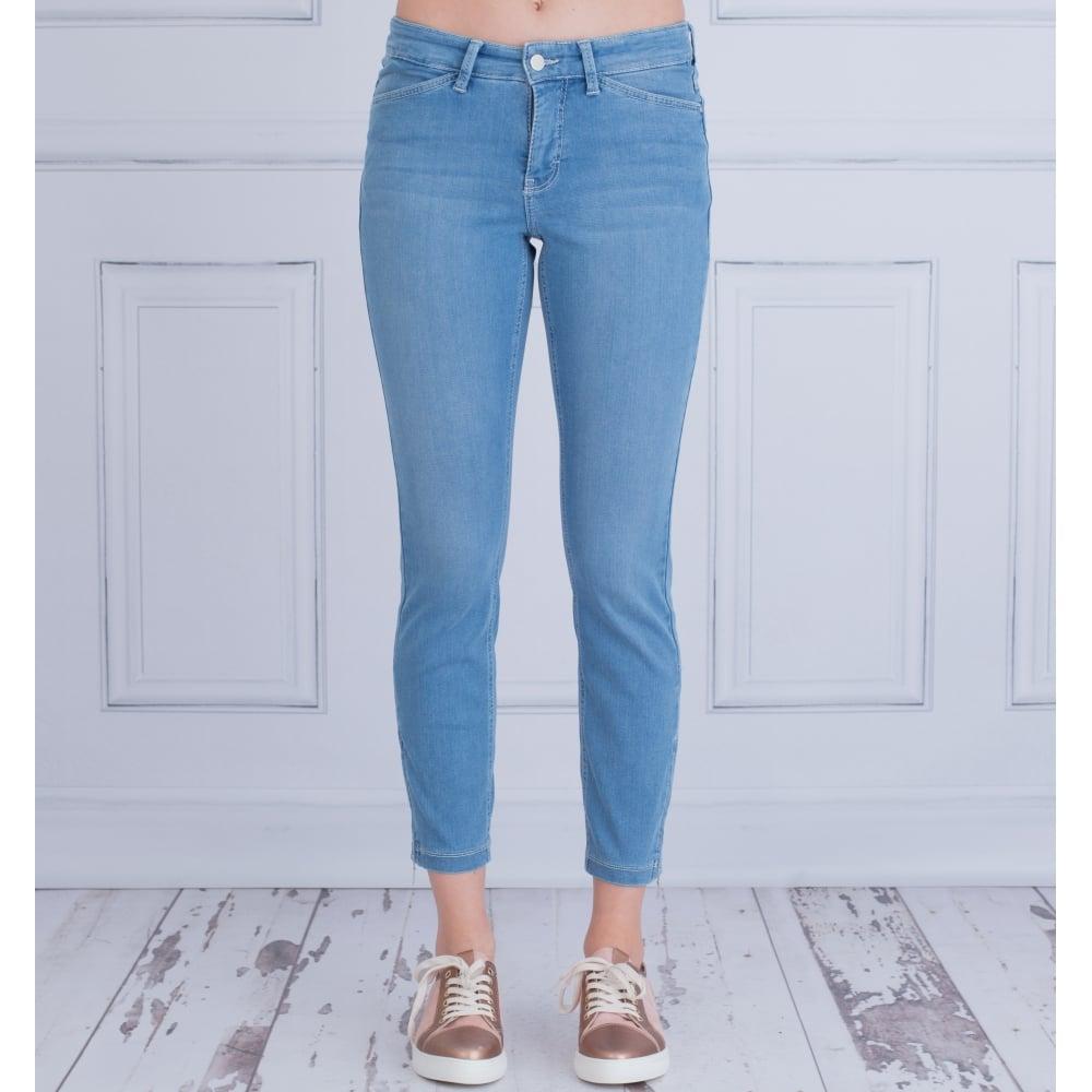 Bestbewerteter Rabatt starke verpackung limitierte Anzahl Cropped Dream Summer Chic Ankle Zip Jeans In Light Denim 5471 90 27L