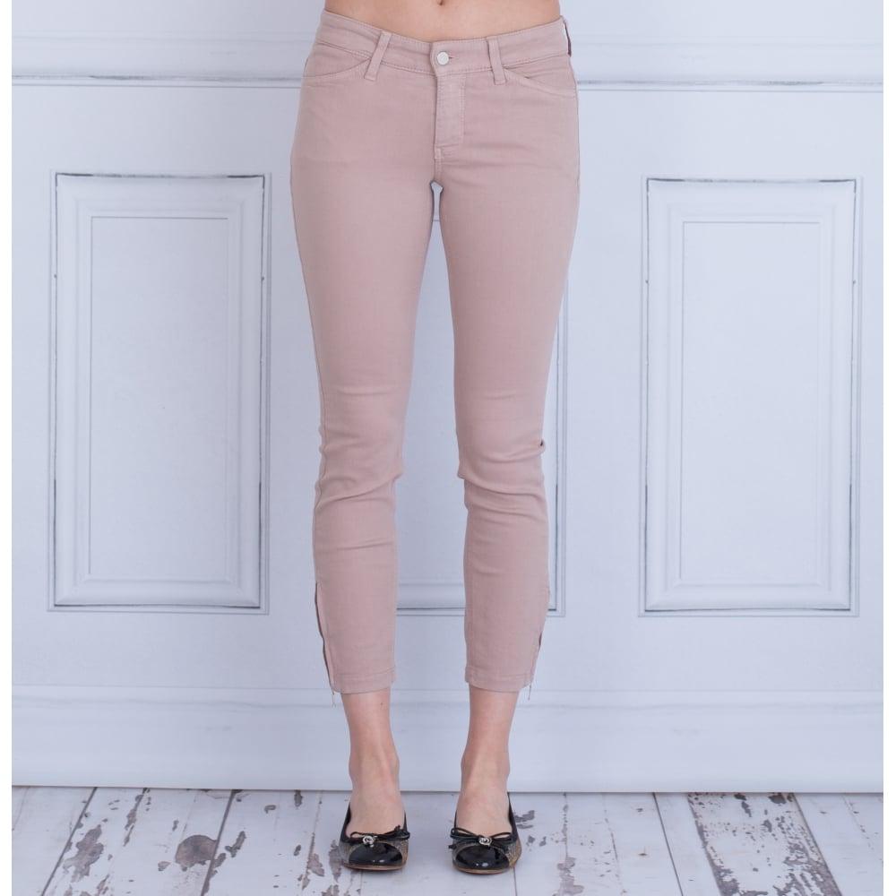 große Vielfalt Stile Neue Produkte offizieller Verkauf Cropped Dream Summer Chic Ankle Zip Jeans In Rose 5471 00 27L