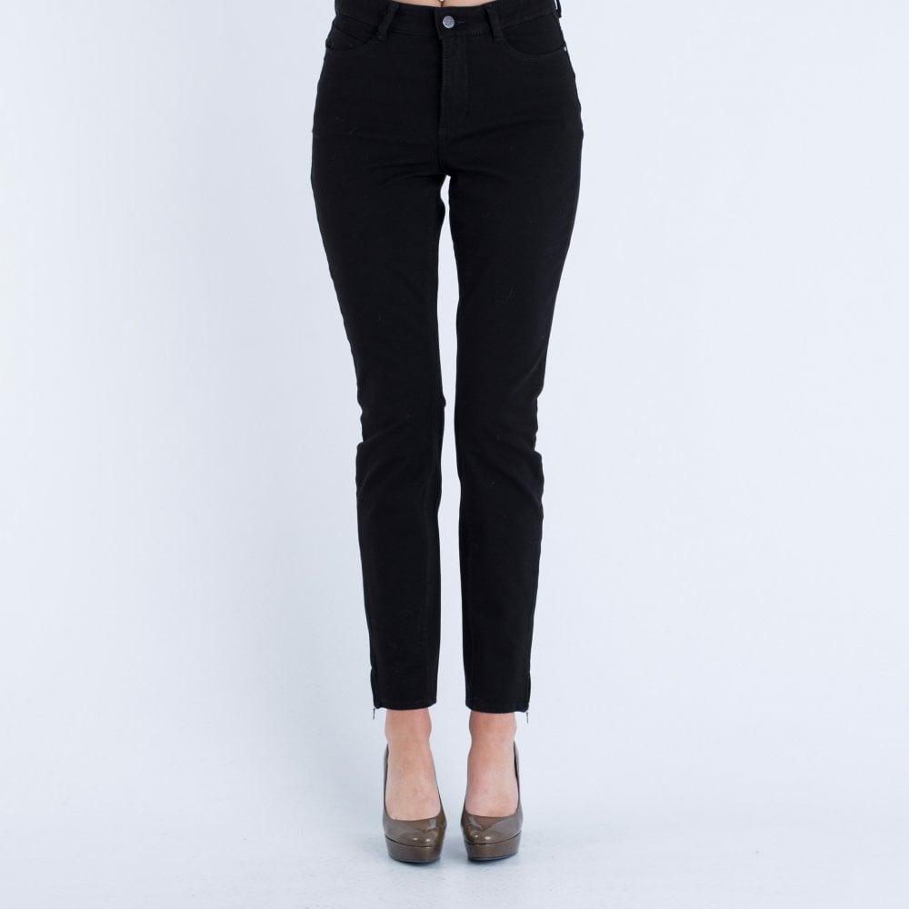 ba33e7a6f6e4 Mac Dream Skinny Leg 29L With Zip Black D999