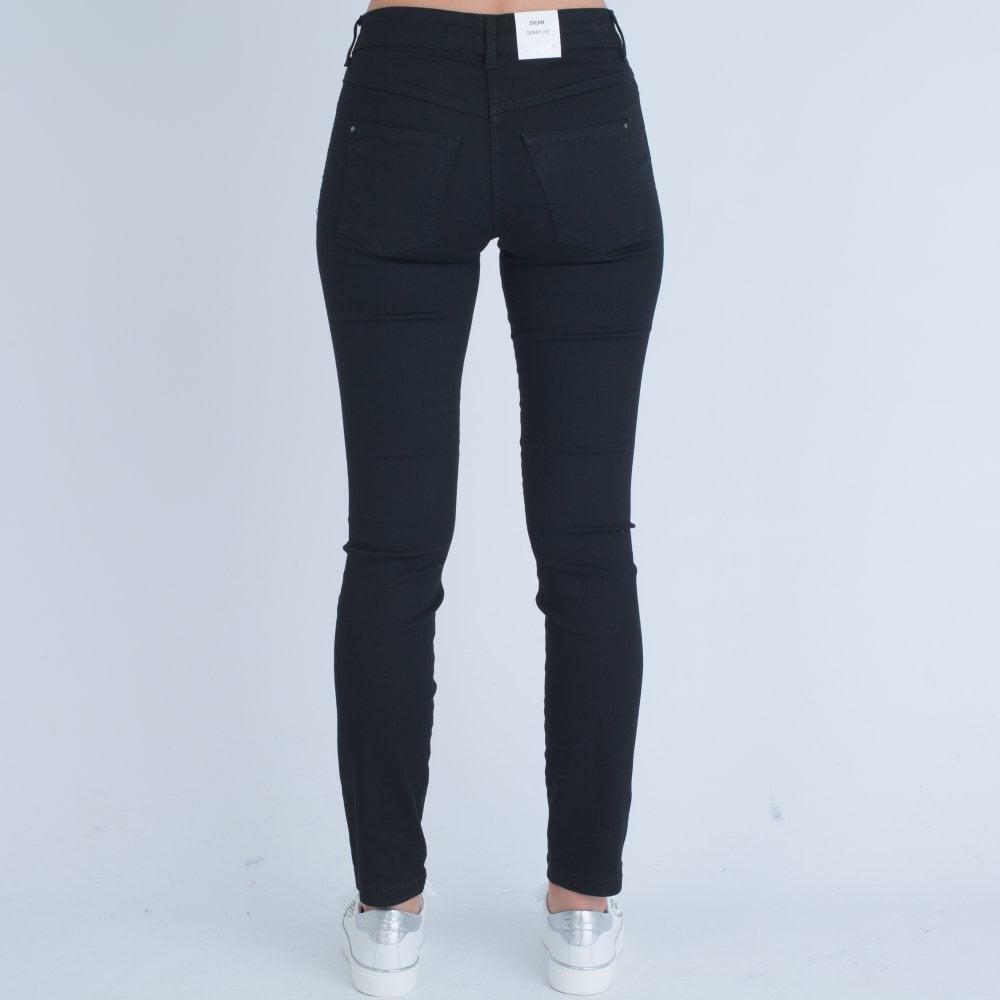 9bc097efb7c1 Mac Dream Skinny Sequin Galloon   Side Stripe Black D999 5448 91 30L