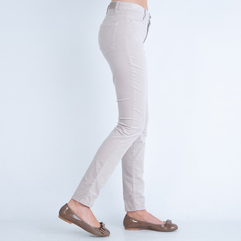 Glue Gently Mr  Marc Cain Velvet Jean Nude | Sister Online Sheffield