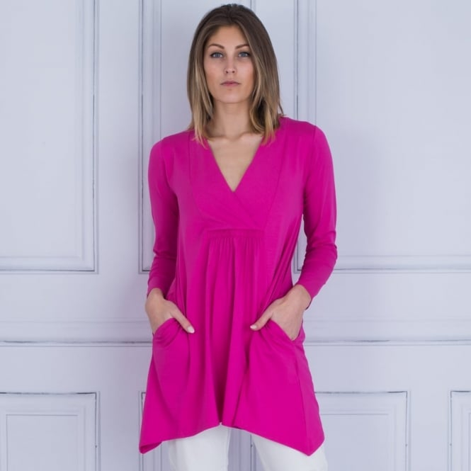 MASAI Genesis A Shape Gathered Back Tunic In Pink