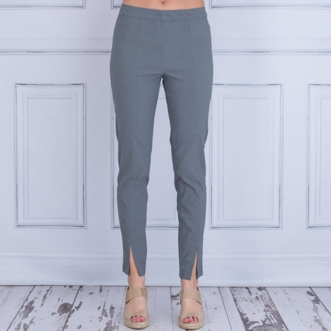 MASAI Pada Pull On Pant With Front Split In Grey