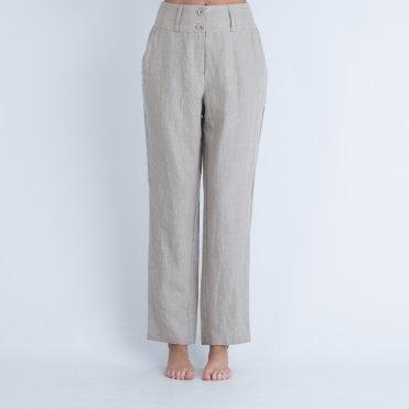 7e4282e76aa4 Masai Petroni Linen Trouser Beige