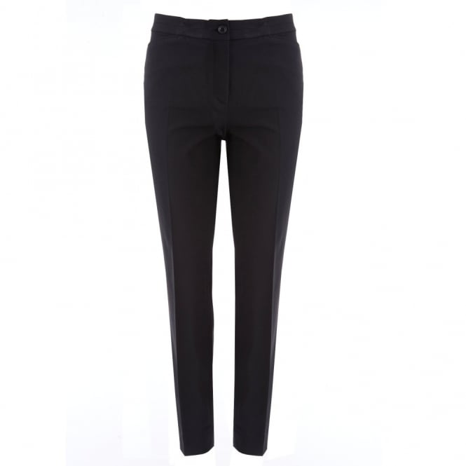 RIANI Tailored Techno Pant in Black