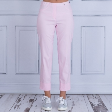 Bella 09 Turn Up Pull On Pant 68cm In Pink 51568 5499