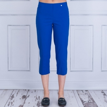 Marie 07 55cm Cropped Trouser In Cobalt Blue