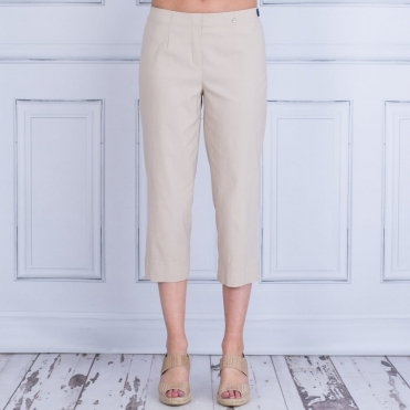Marie 07 55cm Cropped Trouser In Sand