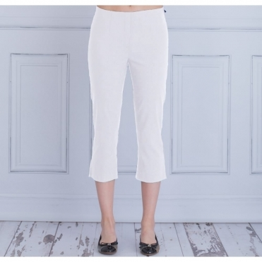Marie 07 55cm Cropped Trouser In White 51576 5499