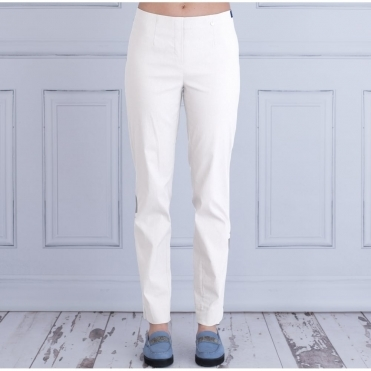 Marie Classic Long 78cm Trouser In White 51412 5499