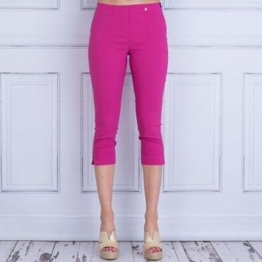Rose 07 55cm Just Below Knee Slim Fit In Raspberry 143