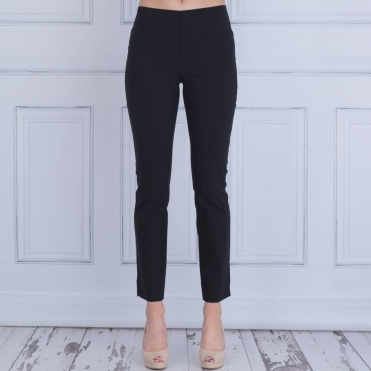 Classic Pull On Trouser In Black 900