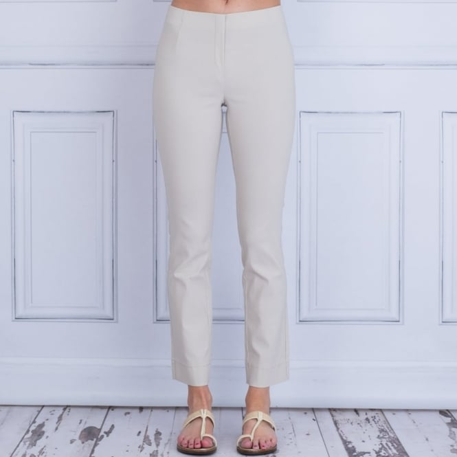 SIMCLAN Classic Pull On Trouser In Sand 359