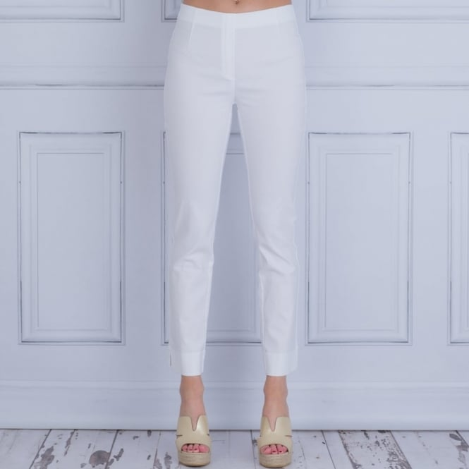 SIMCLAN Classic Pull On Trouser In White 110