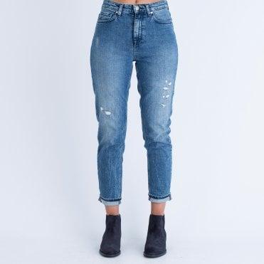Tommy Hilfiger Distressed Jean With Stripe Pocket Light Denim d510656d3