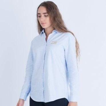 Tommy Hilfiger Girlfriend Fit Shirt Light Blue 1b735d92c