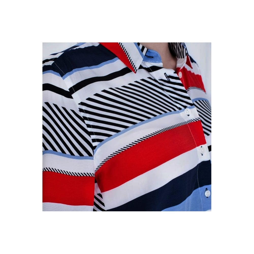 50021c32a12e7 Tommy Hilfiger Kaylee Speed Patchwork Blouse 21509111