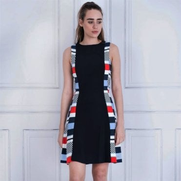 Tommy Hilfiger Kemmie Sleeveless Dress Speed Patchwork Dress ecb1129ba
