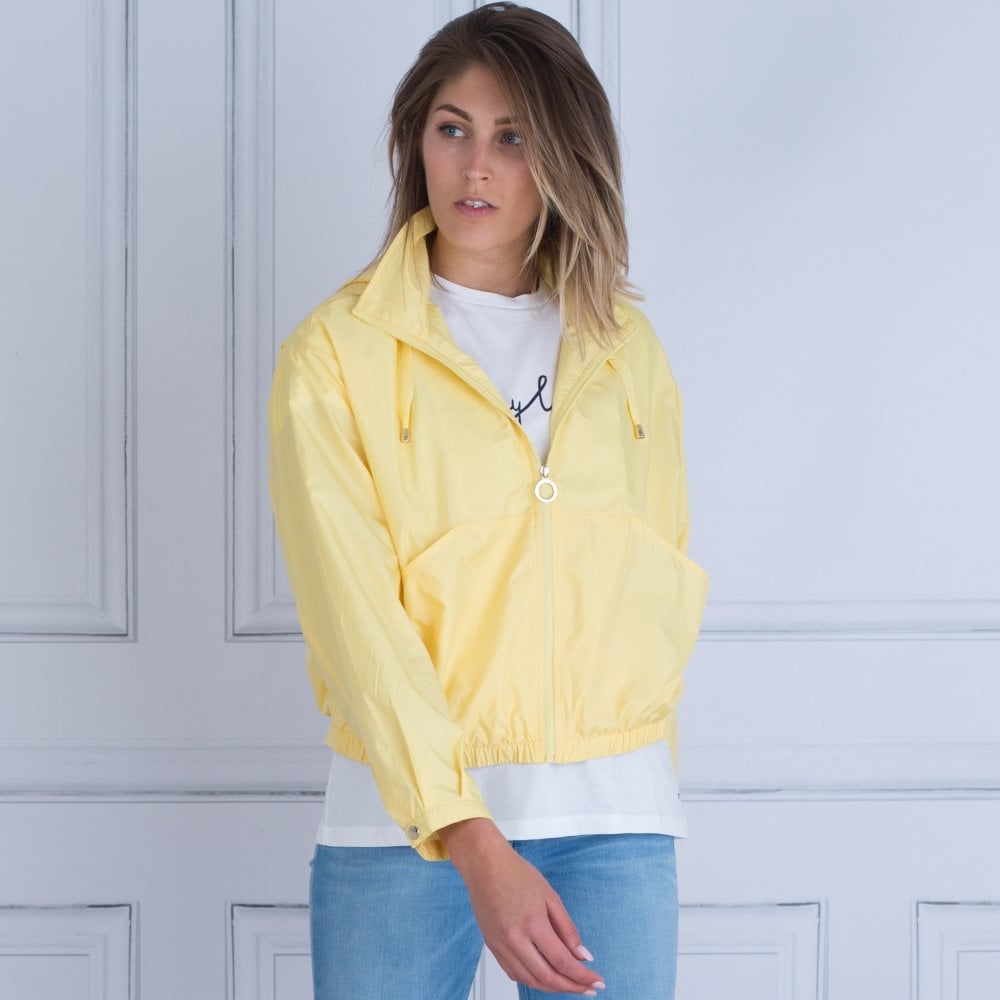 307d5a30a5677 Tommy Hilfiger Susan Short Packable Hooded Mac Yellow 21427755