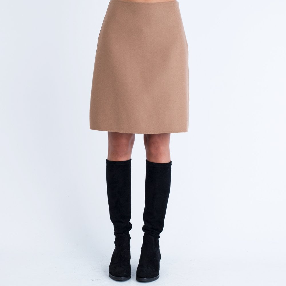100% autentico 7d129 d4bb8 WEEKEND BY MAXMARA Weekend By Maxmara Aletta Slight A Line Skirt Camel